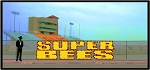 5' x 17' Super Bee Letters - Stacked