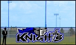 6' x 19' Knight with Letters