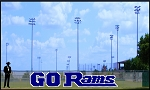 4' Go Rams Letters